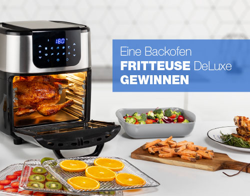 Backofen Fritteuse DeLuxe