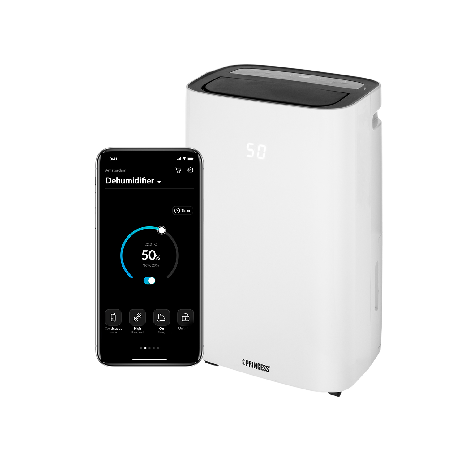 Princess 353120 Smart humidifier