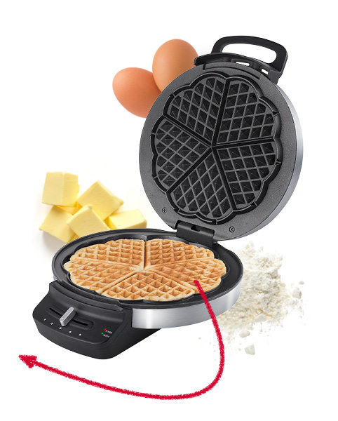 Princess 132393 Waffle Iron DeLuxe
