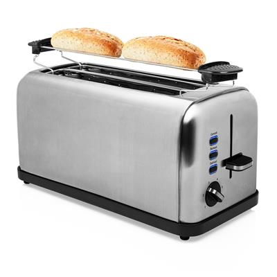 Princess 142389 Toaster Steel Style 2 long slot